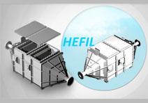 Stainless steel dedusting filter box