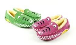 Kids Moccasin Crocodile