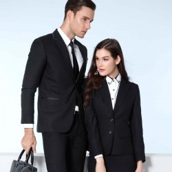 men and women business suit