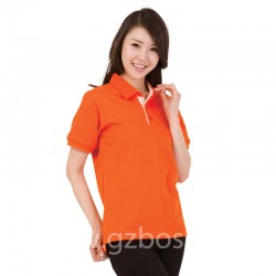 turn-down POLO T Shirt