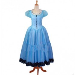 alicestyless.com is selling Alice in Wonderland Alice Blue Dress Cosplay Costumes