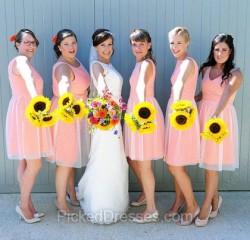 Blue Bridesmaid Dresses Canada | Pickeddresses