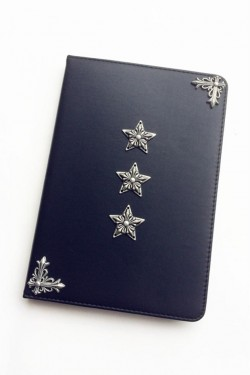 Retro Black Chrome Hearts Stars IPad Protective Case [160302] – $50.00 : Chrome Hearts Onl ...