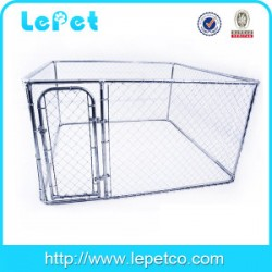 High quality large outdoor metal chain link dog kennel