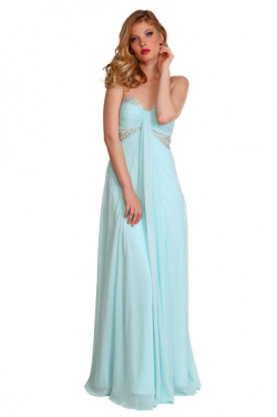 US$165.99 2016 Sweetheart A-line Mint Chiffon Floor Length Sleeveless Ruched