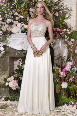 US$167.99 2016 Sweetheart Appliques Floor Length White Sleeveless Ruched Chiffon