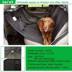 Dog seat cover hammock car hammock for dogs oxford non slip