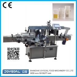 Horizontal labeling machine