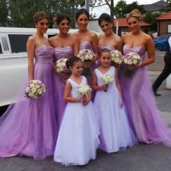 Lilac, Lavender and Mauve Bridesmaid Dresses UK at Dressfashion.co.uk