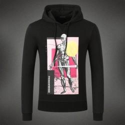 Dsquared2 Men DS09 Giant Print Sweatshirt Black