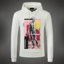 Dsquared2 Men DS09 Giant Print Sweatshirt White