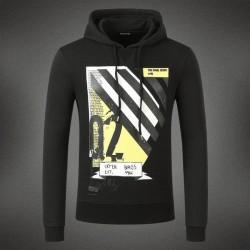 Dsquared2 Men DS08 Q2 Stripes Sweatshirt Black