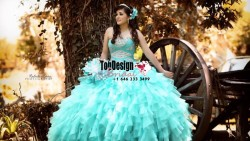 2017 New Beaded Sweet 15 Dress Tiffany Blue Vestidos De Fiesta Satin Organza Quinceanera Ball Gown