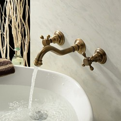 Antique Inspired Bathroom Faucet (Polished Brass Finish) – Faucetsmall.com