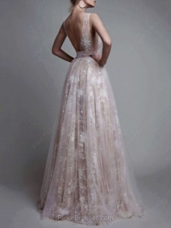 Long Prom Dresses Canada | Simple Long Prom Dress | Pickedresses