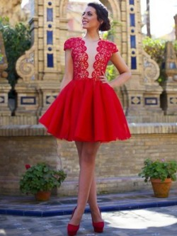 Short Prom Dresses Canada | Short Formal Gowns | Pickedresses