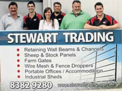 Stewart Trading – Quality Affordable Steel Supplies – Retaining Wall, Fencing, Rural ...