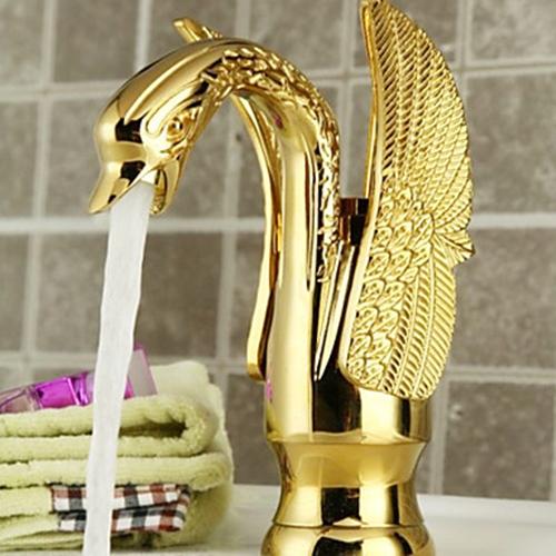 Bionics Design Centerset Bathroom Sink Faucet ...