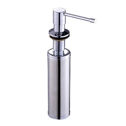 Chrome Finish Soap Dispenser for Kitchen Sink – FaucetSuperDeal.com
