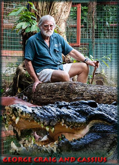 Marineland Croc Park on Green Island – Cassius the Crocodile