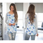 Occident and the United States Polyester printing and dyeing Female dress