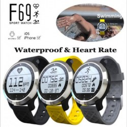 F69 Sport Waterproof Smart Watch | F69 Smart Swimming Watch Heart Rate Monitor