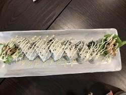 Soft shell crab sushi rolls
