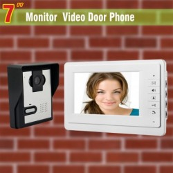 7 Inch Video Door Phone Doorbell Intercom