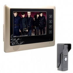 Touch Pad 7inch Video Door Phone Doorbell