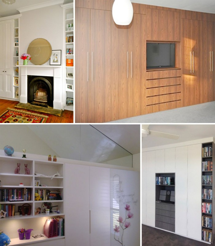 Built in Wardrobes For Living Room
