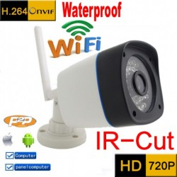 WiFi HD 720P Outdoor Wireless Network IP Security Camera