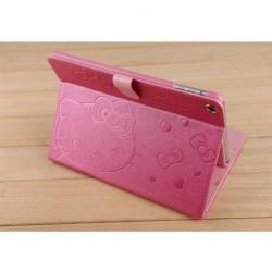 Cartoon kitty cat Apple iPad air 2 /iPad Air Smart Cover Case