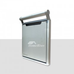 Folding Wall Mounted Shower Seat Aluminum Alloy Painting