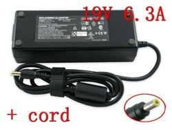 Cargador Asus 19V 6.32A 120W G50