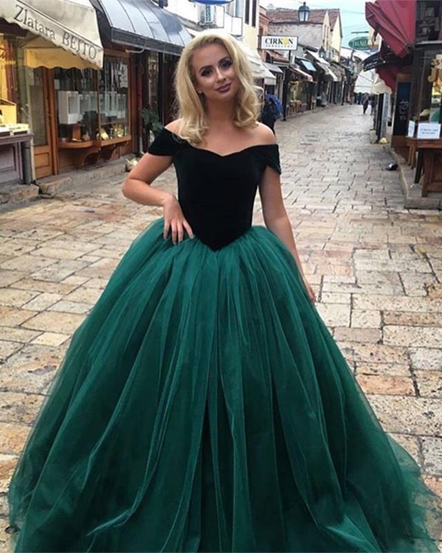 Farbig Abendkleider