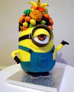 Minion cake 🎉