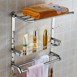 Are the Chrome Bathroom Shelves really worthy of buyer's money? | HUSKER HOME FOODS