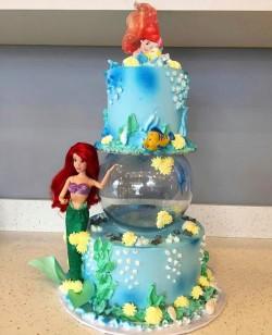Mermaid Birthday Cake 🎂