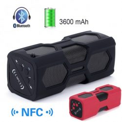 NFC Wireless Power Bank Bluetooth 4.0 Speaker