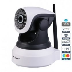 1.0MP WiFi Wireless IP Security Camera | Wireless HD IP Wifi CCTV indoor Security Camera