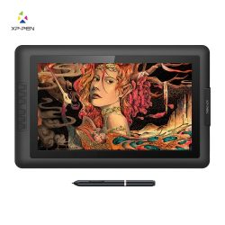 XP-Pen Artist15.6 Ips Drawing Monitor Pen Display Graphic Tablet Digital Monitor with Battery-Fr ...