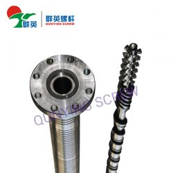screw and barrel for extrusion machine