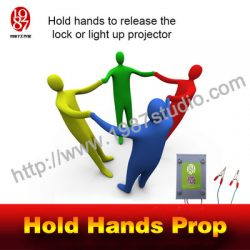 Hold Hands Prop for Escape Room, DIY your Escape Room