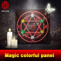 Magic Colorful Panel Prop for Escape Room is Selling at 1987 Studio.