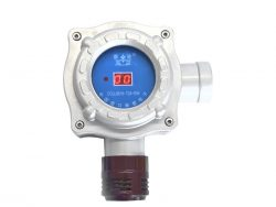 Combustible gas detector for automobile