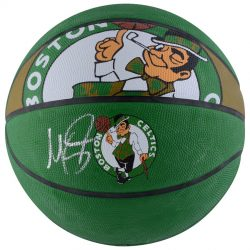 Autographed Boston Celtics Marcus Smart Fanatics Authentic Spalding Courtside Basketball