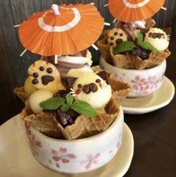 Ice-cream waffle