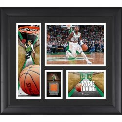 Boston Celtics Kyrie Irving Fanatics Authentic Framed 15″ x 17″ Collage with a Piece ...