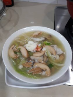 Mummy Homecook noodle with abalone