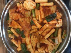 Christmas Eve -at Gangnam – Korean street food